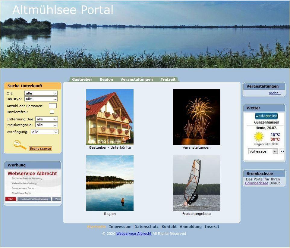 Altmühlsee Portal