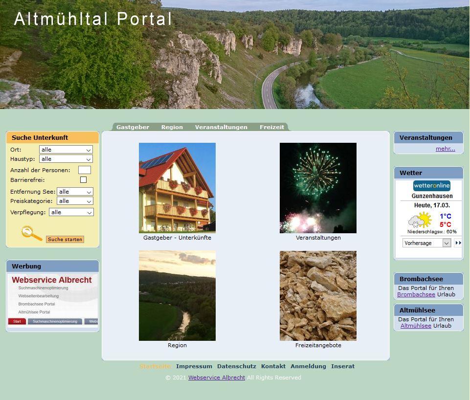 Altmühltal Portal