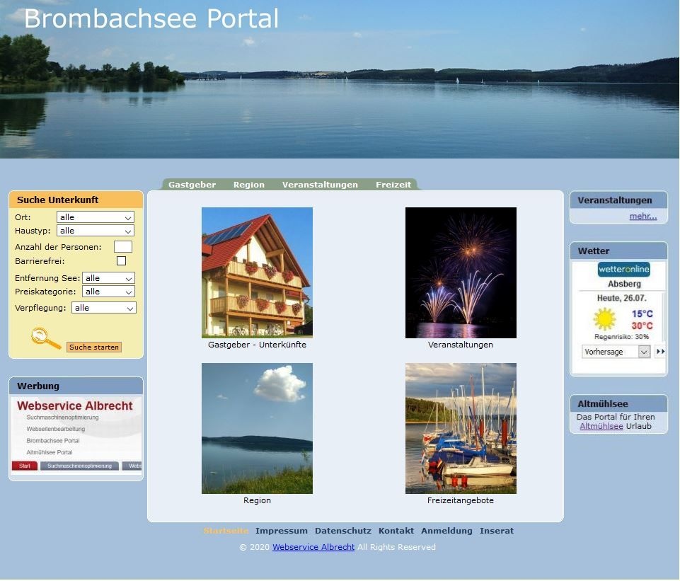 Brombachsee Portal
